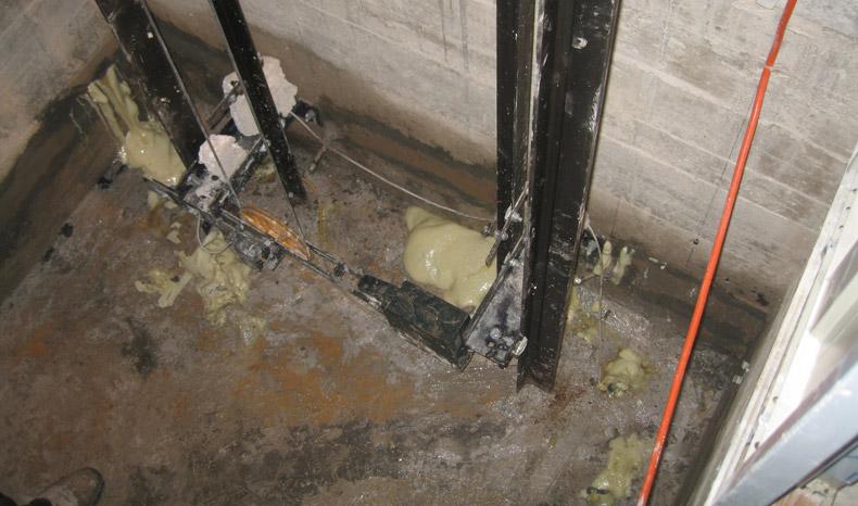 sigillatura.infiltrazioni.acqua.fosse.ascensori.04.mosole.soluzioni.edili